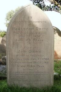 Ann Dring's Grave