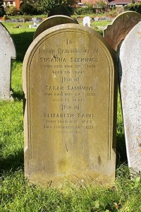 The Seekings sisters headstone